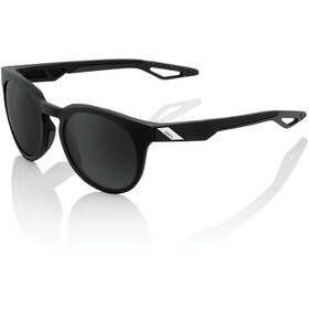 100% Campo Brille matte black/smoke
